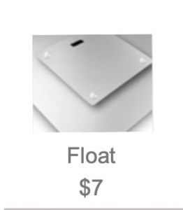 A. Float - $7 (metal print only)